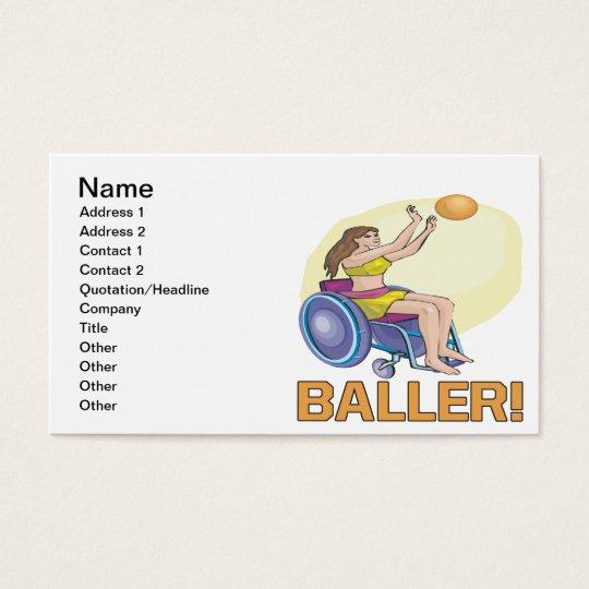 Baller Business Card