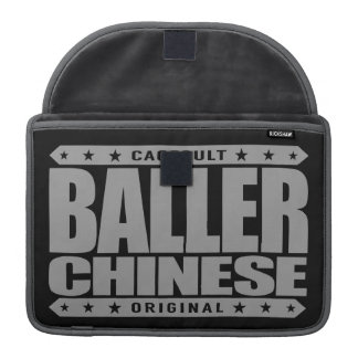 BALLER CHINESE - I'm Cub of Gangster Tiger Mother Sleeve For MacBook Pro