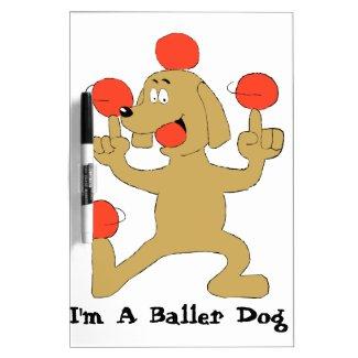 Baller Dog Dry-Erase Board