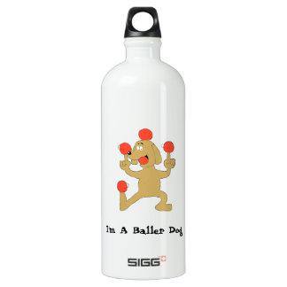 Baller Dog Water Bottle