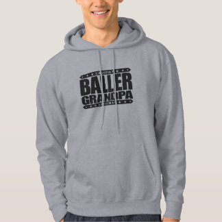 BALLER GRANDPA - Still Rocking Gangster Stemina Hooded Sweatshirt