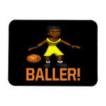 Baller Imanes De Vinilo