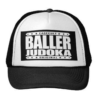 BALLER JUDOKA - Amo el ataque y cuerpos Gorros Bordados