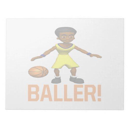 Baller Libreta Para Notas