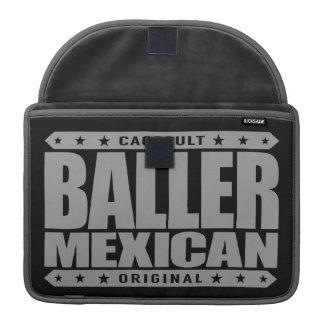 BALLER MEXICAN - An Ancient Mayan Gangster Warrior MacBook Pro Sleeve