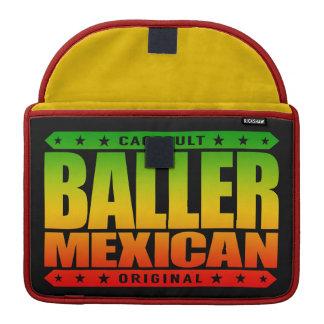 BALLER MEXICAN - An Ancient Mayan Gangster Warrior MacBook Pro Sleeves
