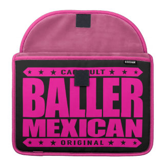 BALLER MEXICAN - An Ancient Mayan Gangster Warrior Sleeves For MacBook Pro