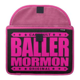 BALLER MORMON - Latter-Day Saint Church Gangster MacBook Pro Sleeve