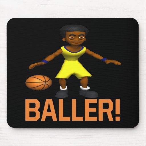 Baller Mouse Pad