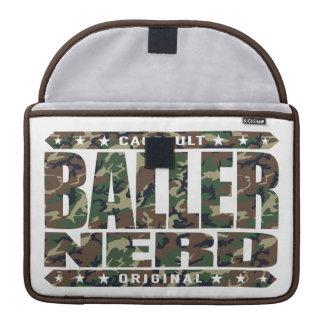 BALLER NERD - I Am Gangster Intellectual Warrior MacBook Pro Sleeve
