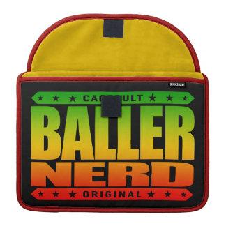 BALLER NERD - I Am Gangster Intellectual Warrior Sleeve For MacBook Pro