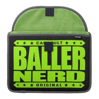 BALLER NERD - I Am Gangster Intellectual Warrior Sleeve For MacBooks