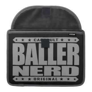 BALLER NERD - I Am Gangster Intellectual Warrior Sleeves For MacBooks