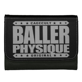 BALLER PHYSIQUE - Hot Body Like Greek Gangster God Leather Wallet For Women