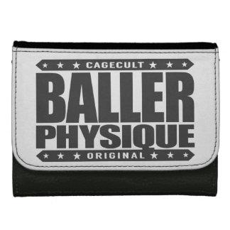 BALLER PHYSIQUE - Hot Body Like Greek Gangster God Leather Wallets