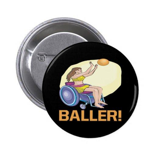 Baller Pinback Button