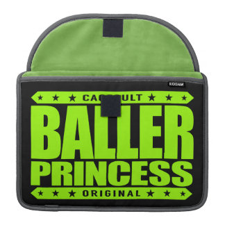 BALLER PRINCESS - I Will Turn Gangster On a Dime Sleeve For MacBooks