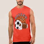 Baller Sports Fan Sleeveless Shirt