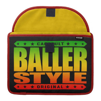 BALLER STYLE - Intimidate With Gangster Confidence Sleeve For MacBooks