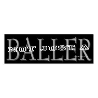 Baller - tarjeta personal de los medios sociales