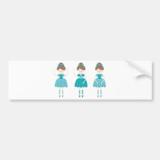 ballerina1 bumper sticker