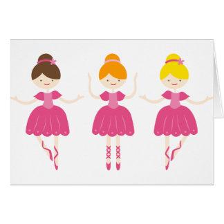 ballerina4 greeting card