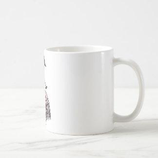 ballerina 1 classic white coffee mug