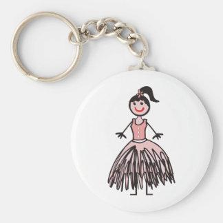 ballerina 1 keychains