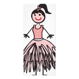 ballerina 1 rack card
