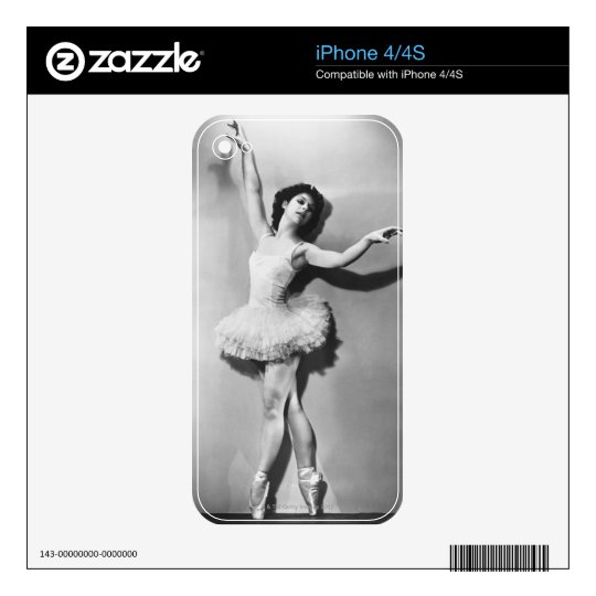 Ballerina 2 decal for the iPhone 4