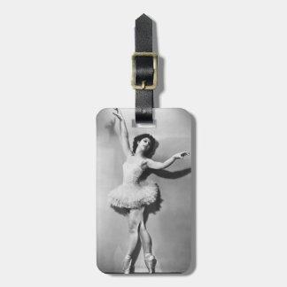Ballerina 2 luggage tag