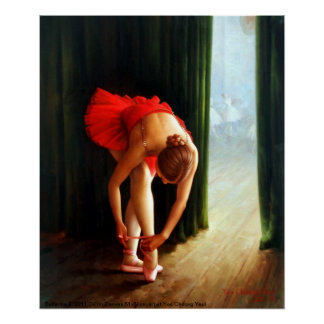 Ballerina 2 Print