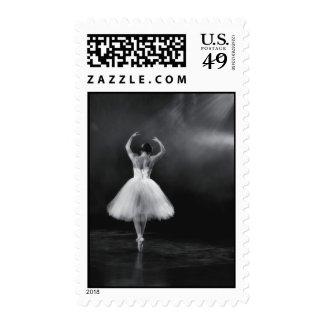 Ballerina 5 x 7 postage stamp