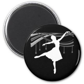 Ballerina: All Wet 2 Inch Round Magnet