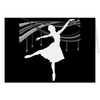 Ballerina: All Wet Card