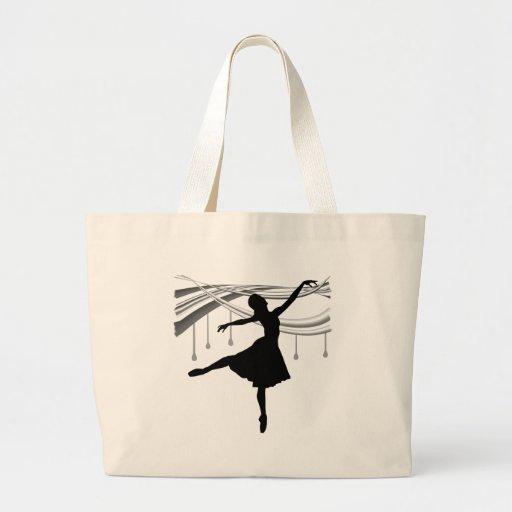 Ballerina: All Wet Jumbo Tote Bag