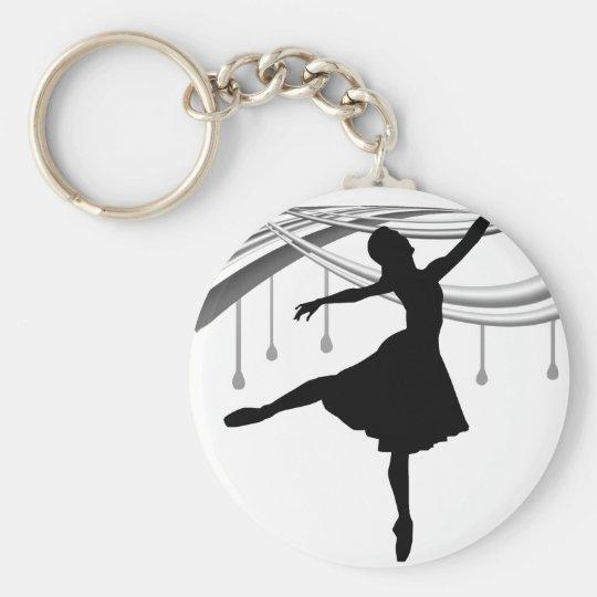 Ballerina: All Wet Keychain