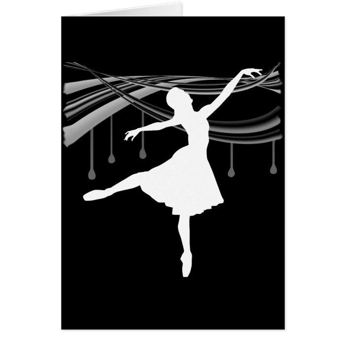ballerina all wetonblack card