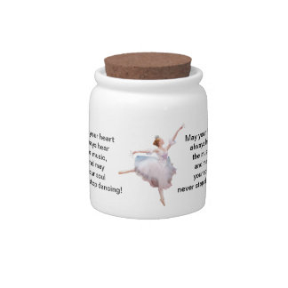 Ballerina and Castanets Candy Jar
