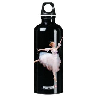 Ballerina and Castanets Customizable Aluminum Water Bottle