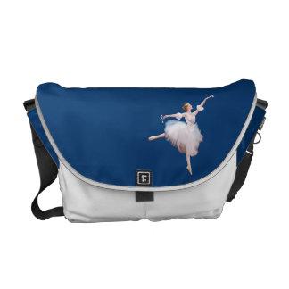 Ballerina and Castanets Customizable Messenger Bab Courier Bag