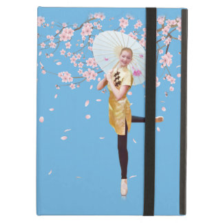 Ballerina and Cherry Blossoms Cover For iPad Air