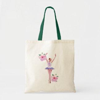 Ballerina and Hibiscus Bag