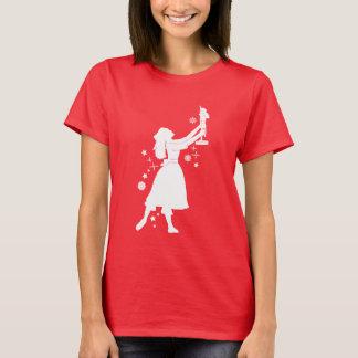 Ballerina and Nutcracker at Christmas T-Shirt