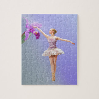 Ballerina and Pink Orchid Puzzles