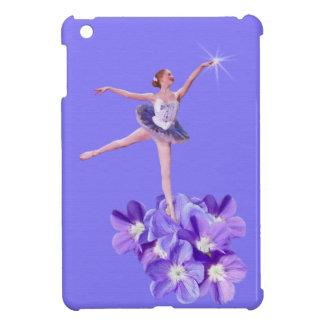 Ballerina and Violets Customizable iPad Mini Cases