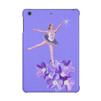 Ballerina and Violets Customizable iPad Mini Retina Covers