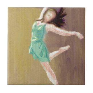 Ballerina Art Tile