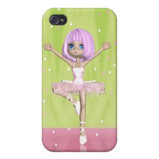 Ballerina Ballet - Cute Ballerina iPhone 4 Covers