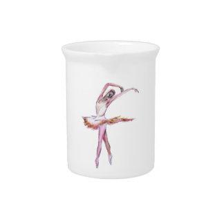 Ballerina , ballet dance art gifts, cards,t shirts beverage pitchers
